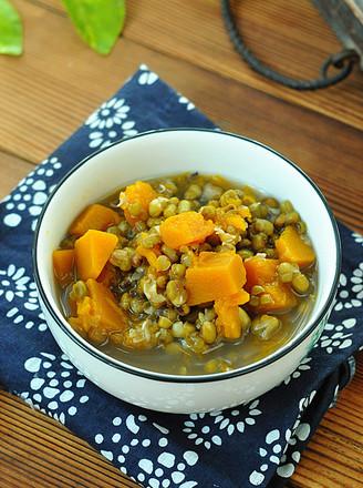 绿豆炖南瓜的做法