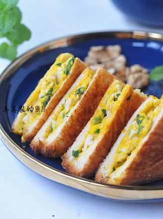 雞蛋三明治的做法