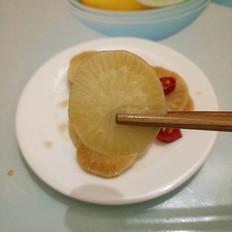 糖醋萝卜的做法
