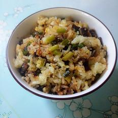蒜苔牛肉炒饭