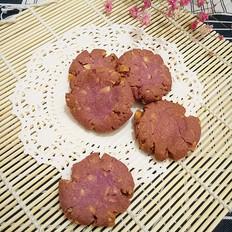 简易紫薯花生酥