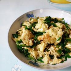 韭菜炒鸭蛋