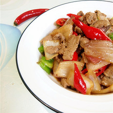 双椒洋葱炒牛肉