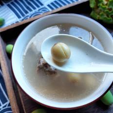 莲子排骨汤