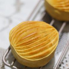 #最美不过中秋味#绿豆沙肉松月饼