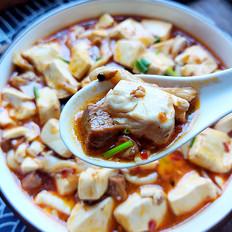#最美不过中秋味#冒牌麻婆豆腐