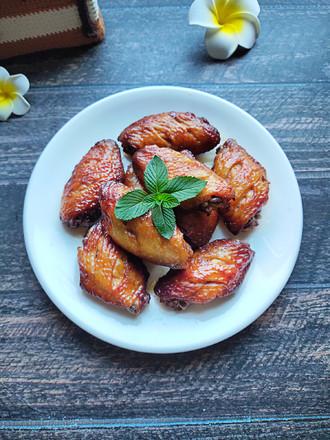 烤藤椒鸡翅(空气炸锅)的做法