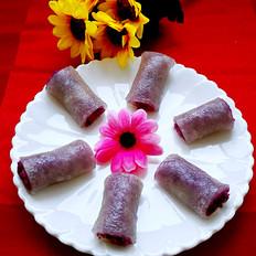 西米紫晶糕