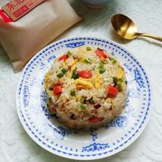 胚芽米杂蔬炒饭