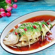 #霸王超市#清蒸黄花鱼的做法