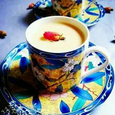 玫瑰焦糖奶茶