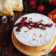 红梅报春戚风蛋糕