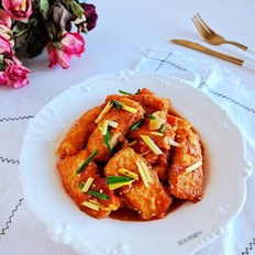 家常茄汁豆腐