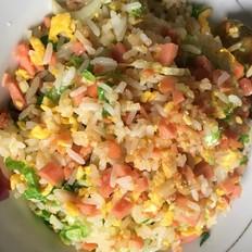 超级简单火腿蛋炒饭