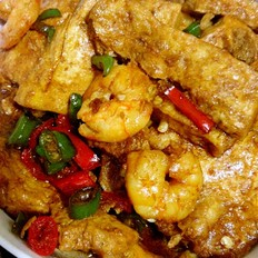 虾仁老豆腐