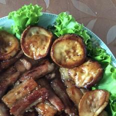 简单烤五花肉