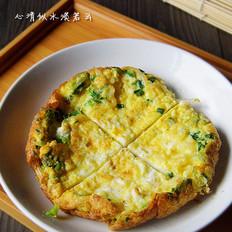 葱花银鱼煎蛋