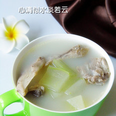 冬瓜鸭掌排骨汤