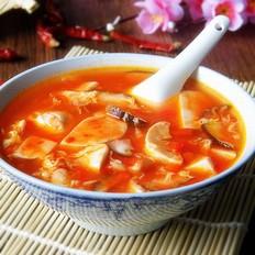 辣味豆腐汤