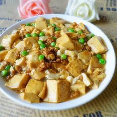 青豌豆溜豆腐