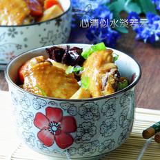 杏鲍菇黄焖鸡翅