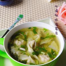 香菇清汤抄手
