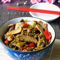 泡菜回锅肉