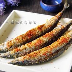 香煎麻辣秋刀鱼