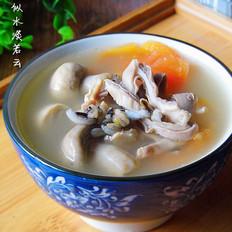 菰米番茄猪肚汤