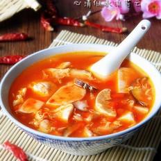 辣椒豆腐汤