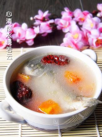 红枣鲫鱼木瓜汤的做法