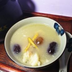 太子参红枣猪脊骨汤