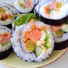 肉松火腿寿司