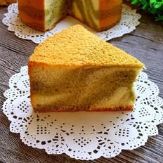 斑马纹蛋糕(八寸戚风)