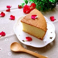 八寸戚风蛋糕(中筋面粉版)