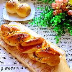果酱花样面包