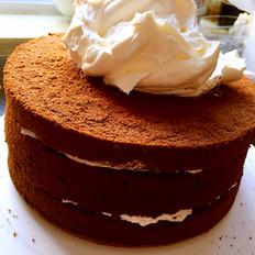 巧克力戚风蛋糕(8寸)