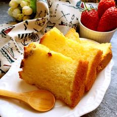 蔓越莓糯米戚风蛋糕(中空7寸)