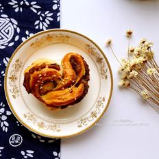 豆沙卷面包