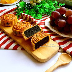 黑芝麻馅月饼(80克)