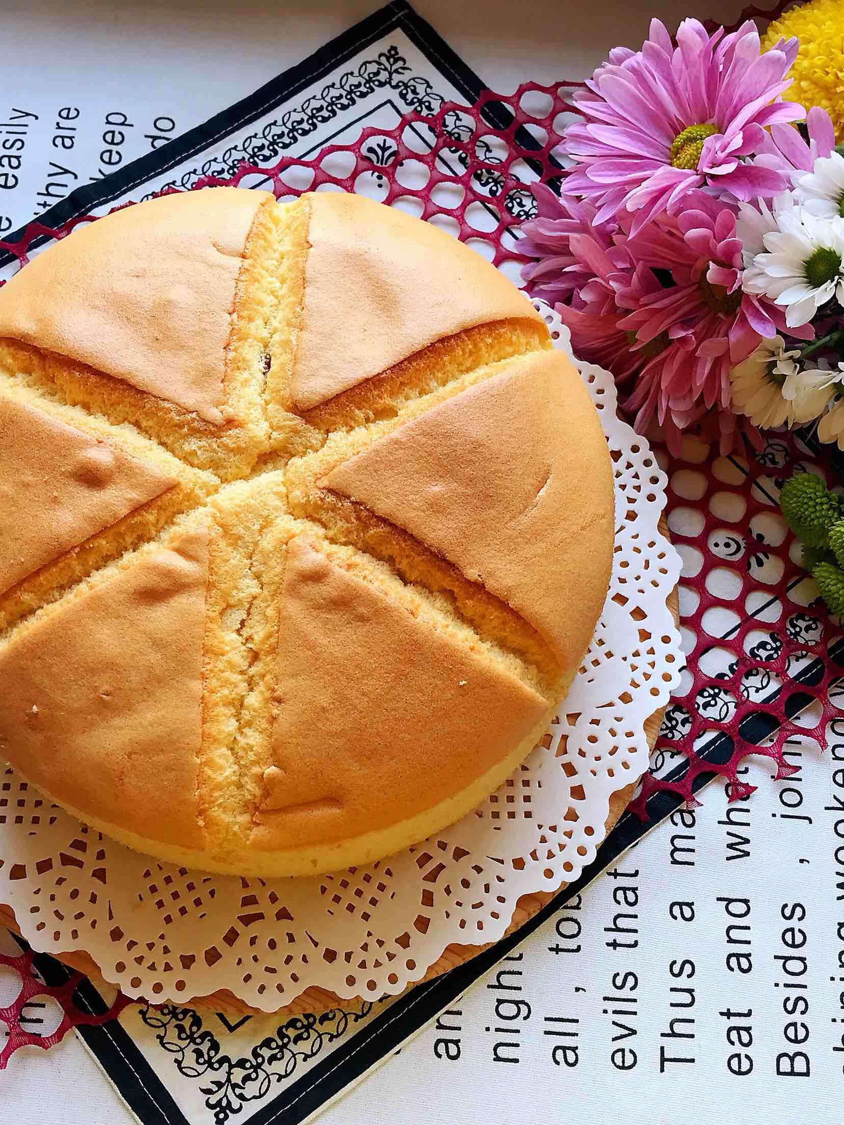 葡萄干椰果蛋糕(八寸)