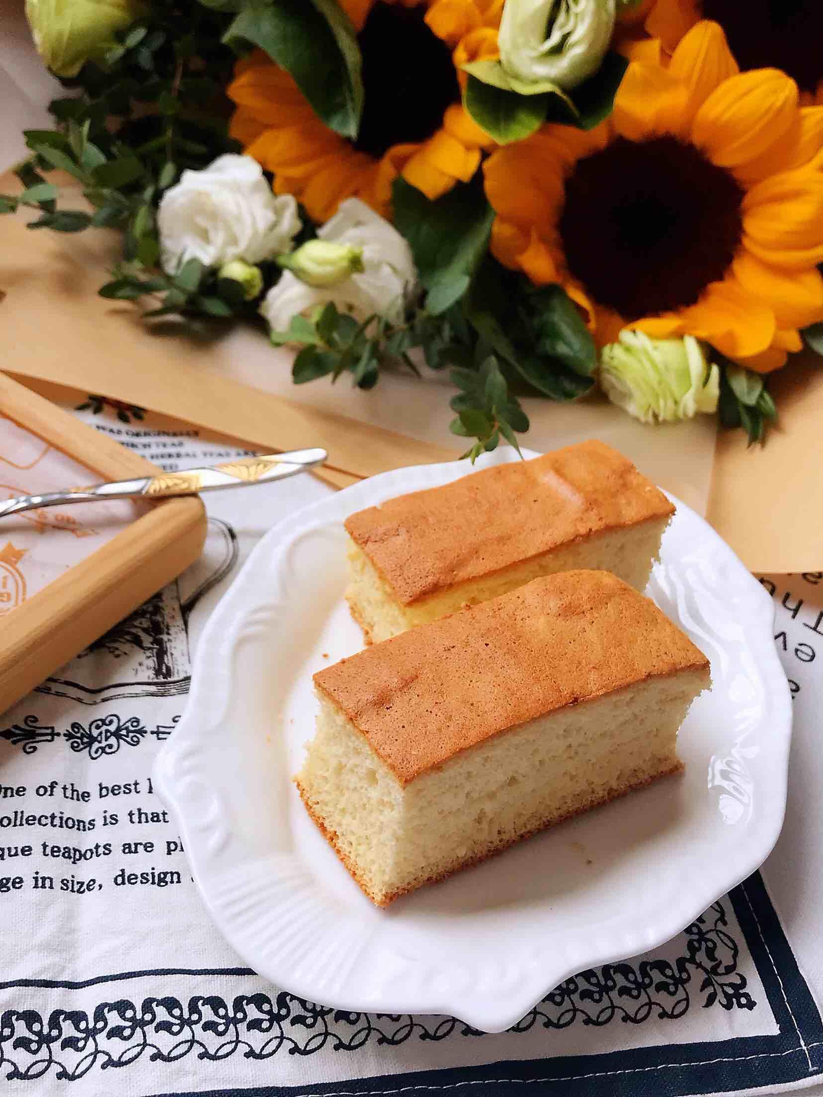 葡萄干蜂蜜蛋糕(八寸方形模具)