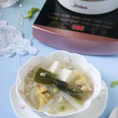 """喝汤也能轻松享""""瘦""""【虾皮蛤蜊肉萝卜丝汤】"""