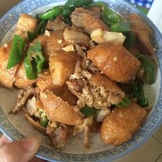 张氏油豆腐烧五花肉