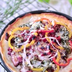 红烧乌梅排骨肉披萨
