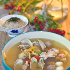 海鲜一品汤