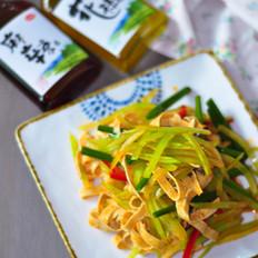 麻辣豆腐笋丝