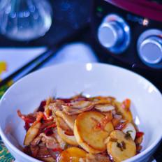 麻油杏鲍菇