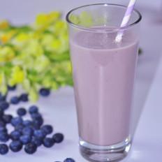 蓝莓豆奶昔