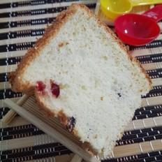 蔓越莓酸奶戚风蛋糕